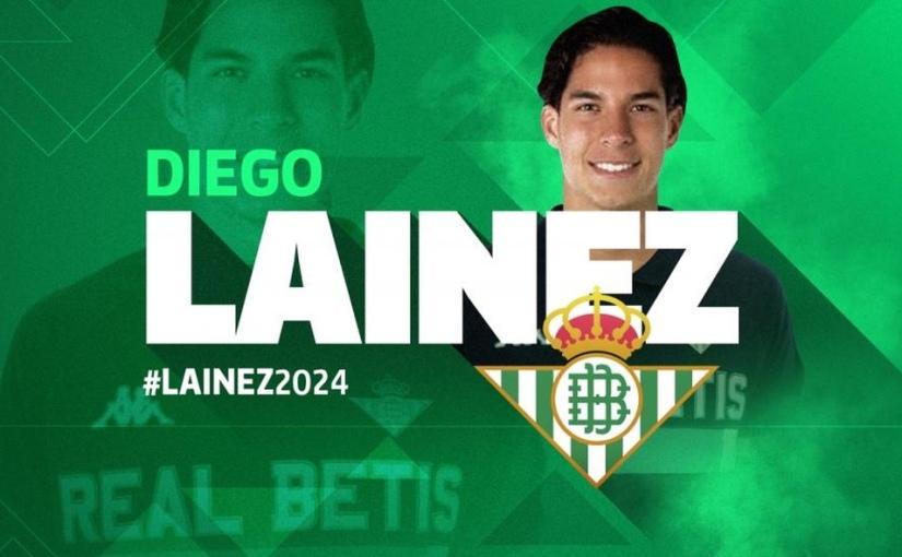 Un futbolista mexicano más jugando en Europa: Traspaso del joven Diego Lainez al Real Betis desde América CF |ES/EN