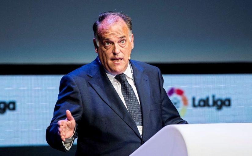 """Javier Tebas: """"La Liga es un motor económico."""""""