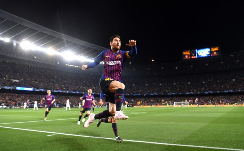 Messi simply on another level as Barcelona cruise to semifinals.