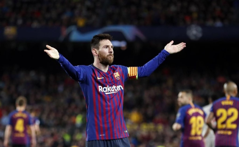 Barça, Messi Continue Champions League Mission With 3-0 Win Over TheReds