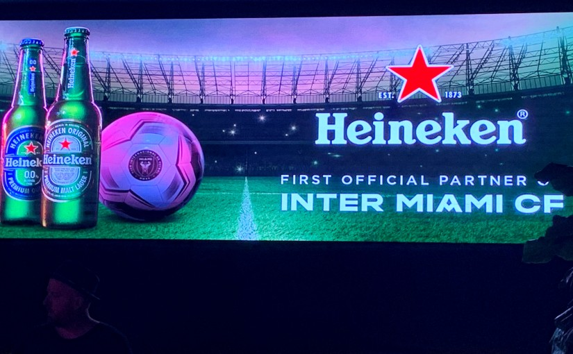 Inter Miami CF Select Heineken As Top Draught Pick; Announce Multiyear Sponsorship
