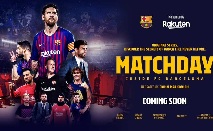 FC Barcelona In-House Documentary Series Will Take You InsideBarça