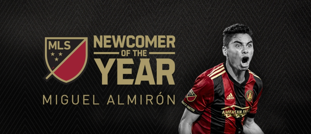 2017 Newcomer of the year Miguel Almirón