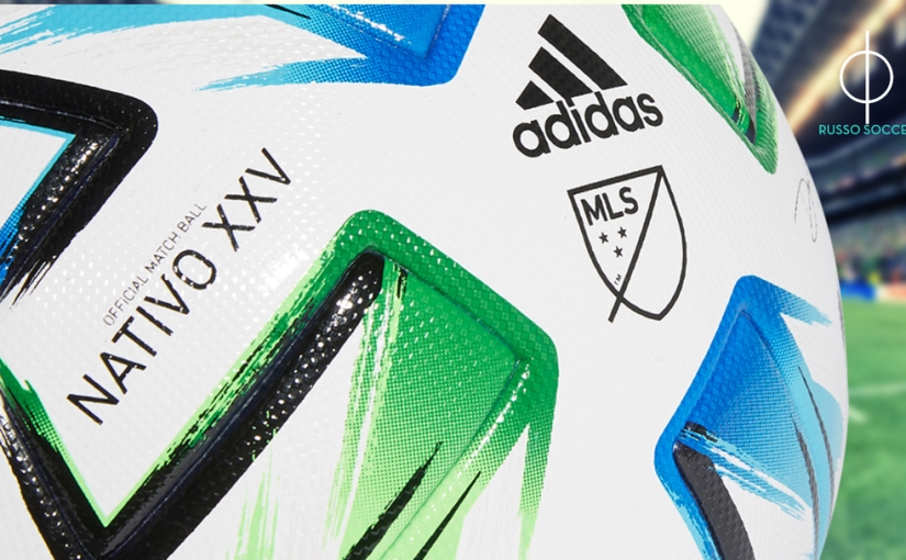 MLS: 25th Season Official Game Ball Unveiled