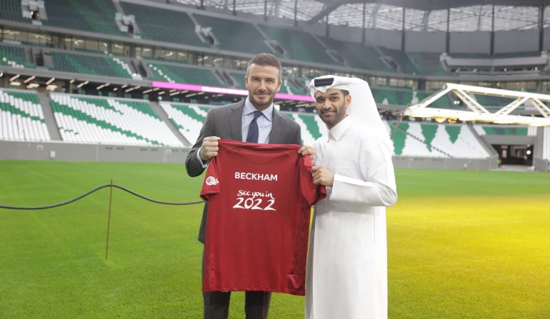 "David Beckham in Qatar: ""The World Cup 2022 Will Be A Dream."""