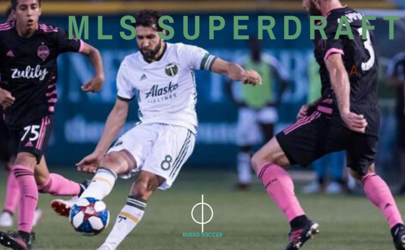 MLS SuperDraft presented by adidas – Jan 9 & 13,2020