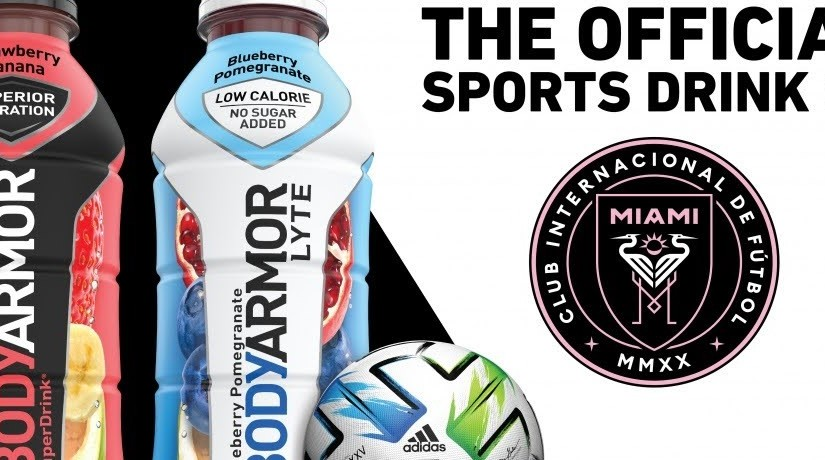 Inter Miami's players have unique hydration needs. Fortunately they now have an official sports drink.