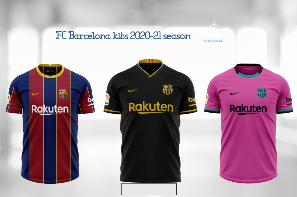 Fc Barcelona Players Get First Look At Next Year S Kits Russo Law And Soccer